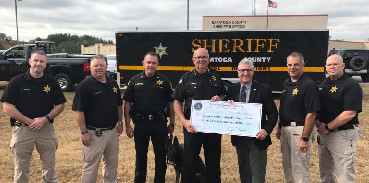 Tedisco Announces New $25,000 Grant for Saratoga County