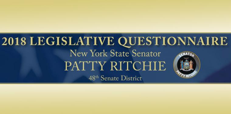 Senator Ritchie Releases Results of 2018 Legislative Survey  d47885811c8