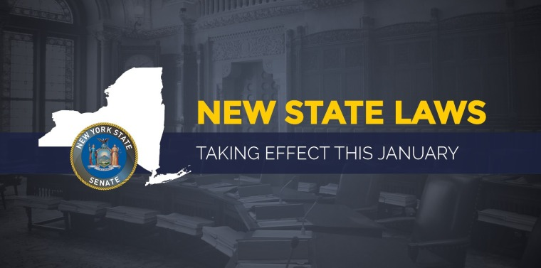 New York State Laws Taking Effect in 2018