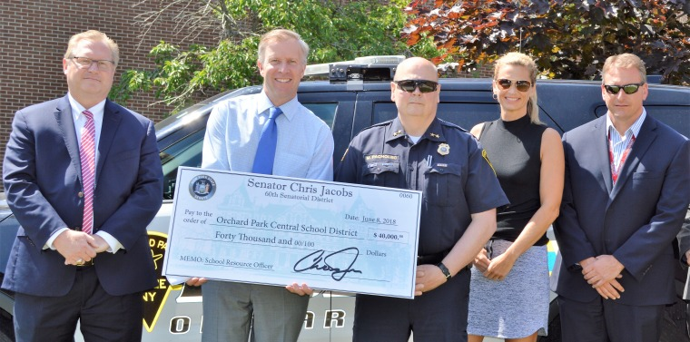 Jacobs Secures $40,000 to Enhance School Safety in Orchard