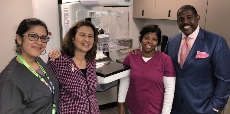 Nyu clinical cancer center breast imaging center