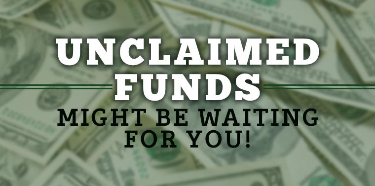 Image result for unclaimed funds
