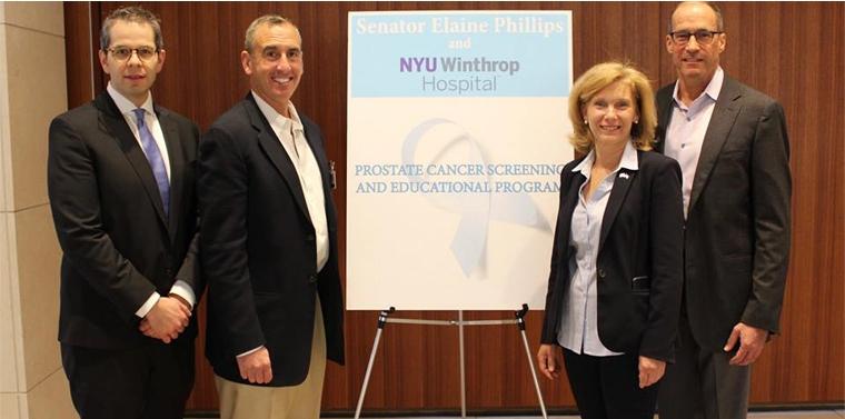 Senator Phillips And NYU Winthrop Hospital Host Free Prostate Cancer