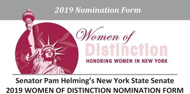 SEE THE LIST: NYS Senate Women of Distinction nominees unveiled
