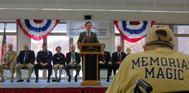 Senator Flanagan Joins Salute To Veterans At The Long Island