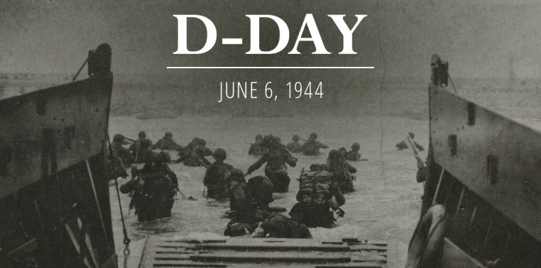 On June 6 1944 The United States And Our Allies Charged Beaches Of France In Largest Air Land Sea Military Operation World Has Ever